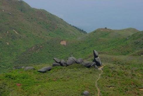 令人心旷神怡的天然景象以及古迹景点――文昌七星岭
