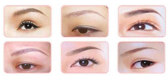 绣眉的眉型需要根据哪些来定呢