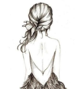 像她这样撩人心的美背,你想不想有啊