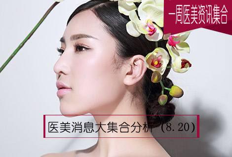 【一周医美资讯集合】医美消息大集合分析(8.20)
