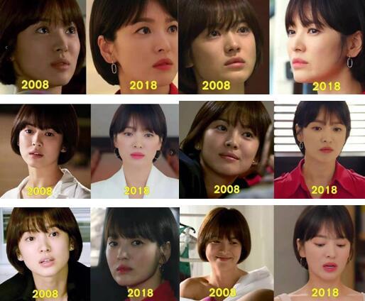 10年过去了宋慧乔美貌依旧,女人做好保养真的很重要
