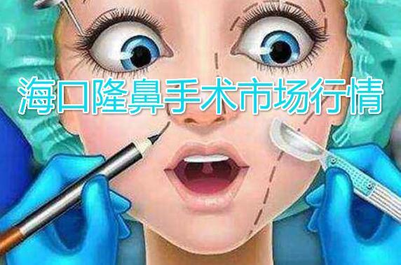 海口隆鼻手术市场行情