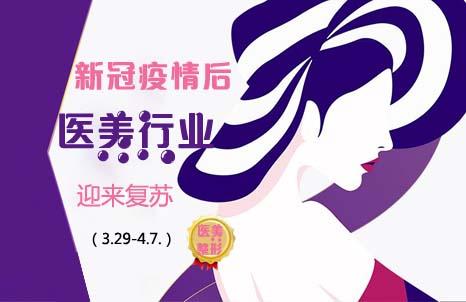 【医美整形】新冠疫情后医美行业迎来复苏(3.29-4.7.)